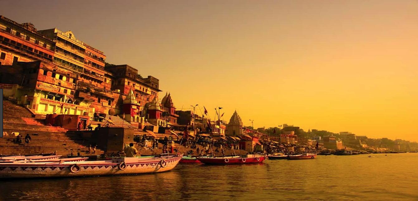 世界のパワースポット インドのガンジス川