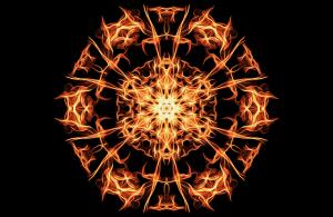 燃えるエネルギー体